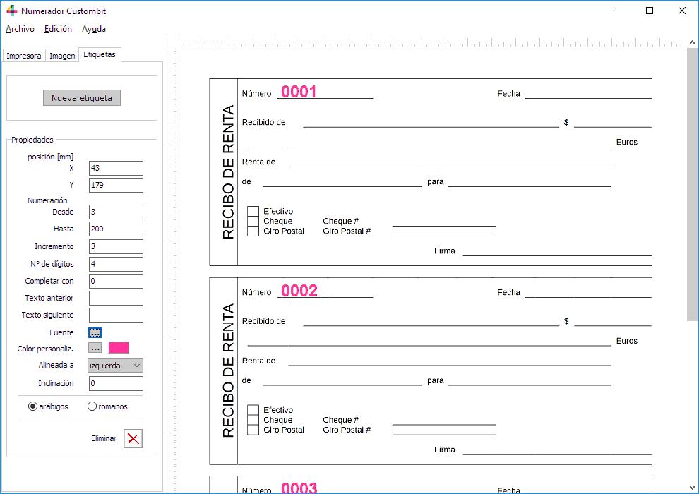 Programa Numerador Para Imprentas Descarga Gratis Sitio Oficial